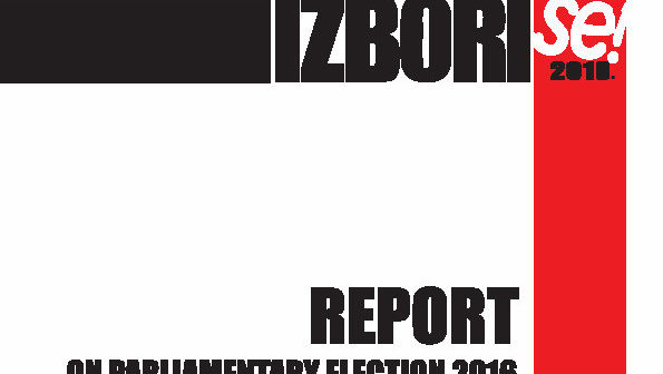 Report on parliamentary elections 2016